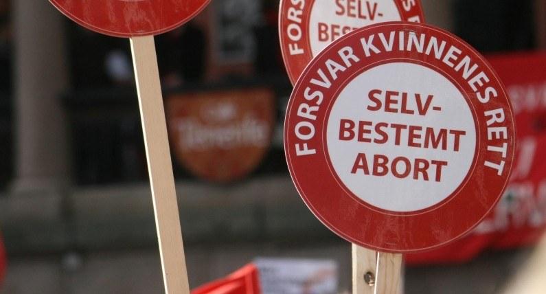 Zwolennicy aborcji wyszli na ulice. Wystarczyło jedno zdanie norweskiej premier