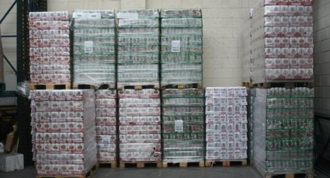 To największe zatrzymanie od lat: Polak próbował wwieźć do Norwegii ponad 30 000 puszek piwa