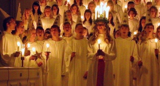 13 grudnia dzień św. Łucji – jedno z najbardziej charakterystycznych świąt w Skandynawii