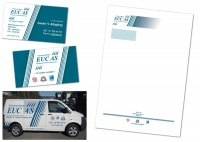 Materiały reklamowe dla firmy EUC