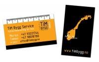 Materiały reklamowe dla firmy TiM Bygg
