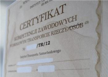 Dokument specjalistyczny w języku norweskim