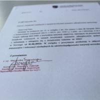 Dokument urzędowy w języku norweskim