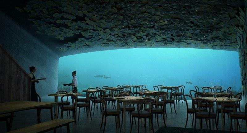 Projekt podwodnej restauracji Under.