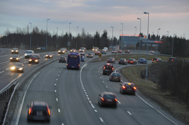 Ruch drogowy w Norwegii