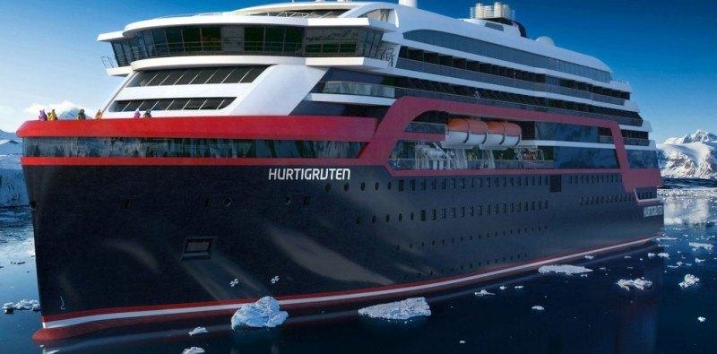 Do tej pory Hurtigruten doczekało się już dwóch arktycznych wycieczkowców.
