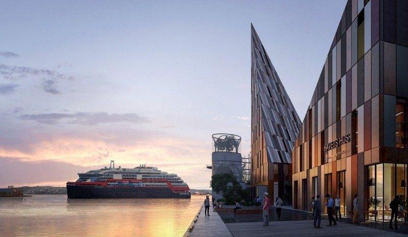 W projekcie kładzie się nacisk na nowoczesną i ekologiczną architekturę.