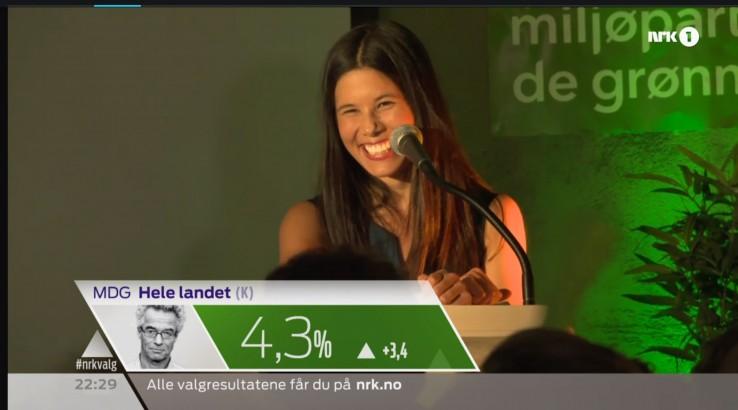 MDG, norwescy Zieloni, główna kandydatka: Lan Marie Nguyen Berg