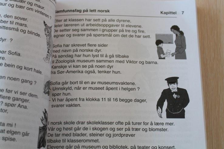 Samfunnsfag på lett norsk