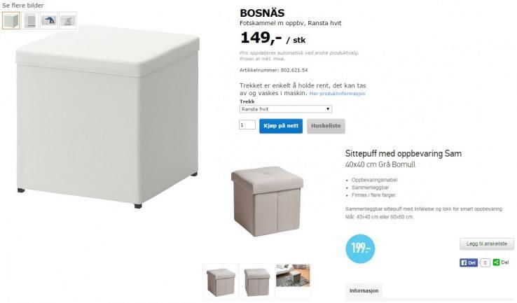 72692f95a3de61 Porównajcie ceny - Rusta vs. IKEA
