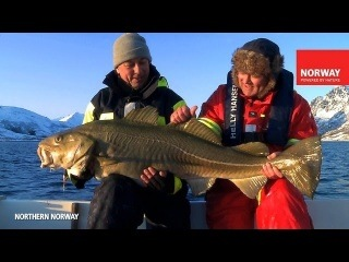 NORWAY. WINTER. FISHING.