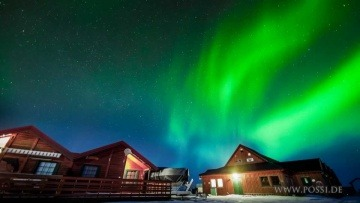 Aurora Borealis (Northern Lights). Time lapses in Norway. Polarlichter. Der Himmel brennt.