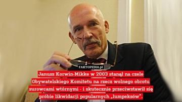 Dla wszystkich przeciwników Janusza Korwin-Mikke