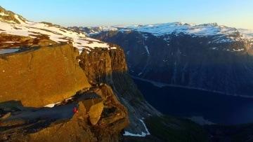 Trolltunga, Norway 4k