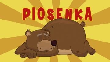 Piosenka dla dzieci - Stary niedźwiedź mocno śpi