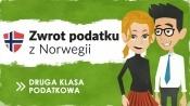 Druga klasa podatkowa - zwrot podatku z Norwegii za 2017 rok