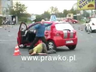 Prawo jazdy - z bańki!