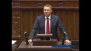 Przemysław Wipler o Trybunale Stanu dla Zbigniewa Ziobry i Ewy Kopacz 25.09.2015