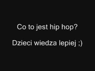 Co to jest hip hop? Dzieci wiedza lepiej [http://www.clipmix.pl]