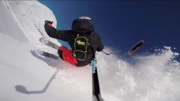 Ma Colline - Best of Snowkite 2015 Alex Robin