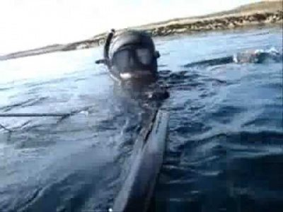 Spearfishing in Norway .Team from Saint-Petersburg. Summer 2009 Lyso, Runde .