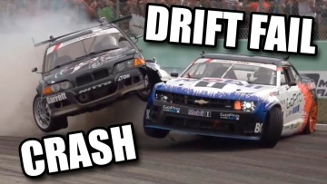 DRIFT CRASH AND FAIL COMPILATION #3 ドリフトクラッシュ