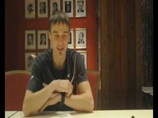Holmenkollen wywiad z polskimi skoczkami