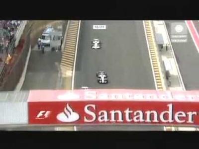 Robert Kubica wyprzedza dwóch niemców podczas GP Brazylii