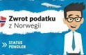 Status Pendler - zwrot podatku z Norwegii za 2017 rok