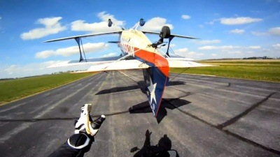 GoPro HD: Airplane Tail Grab with the Werth Brothers