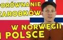 Porównanie zarobków w Norwegii, Polsce i w Europie