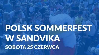 Polsk Sommerfest w Sandvika  - Sobota 25 czerwca