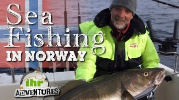 ihr Adventures - Northern lights (Cod and halibut fishing in Norway)