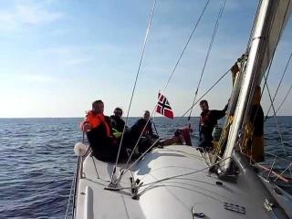 Kabat - sailing - Farr 40 ILC  Oslo - Gdansk september 2010