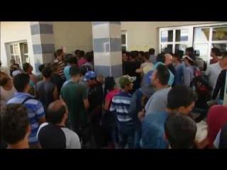 Imigranții s-au bătut între ei pe bilete de tren - Beli Manastir (Mănăstirea Albă)