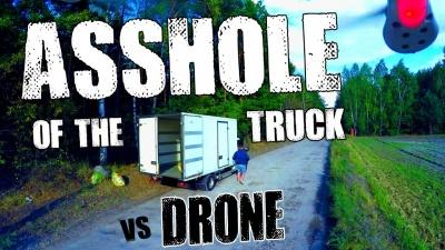 Asshole from the truck / Dupek z ciężarówki [2160p] [4k]