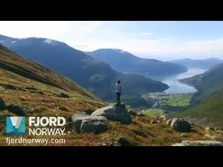 Hiking Mt Skåla - Fjord Norway