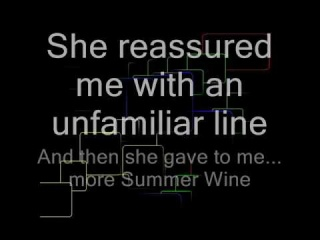 Summer Wine - Natalie Avelon & Ville Valo // with Lyrics (Sing Along) for two People!
