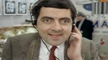 Mr Bean shopping: weirdo in Norway !