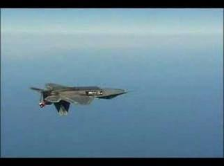 F-22 Raptor Inverted Missle Launch