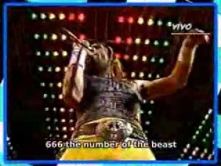 Iron Maiden - The Number of the Beast [Rock in Rio, 1985] (Rede Globo)