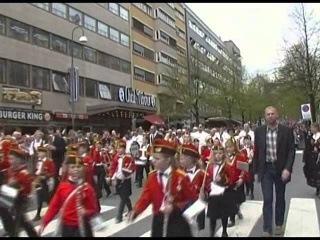 Grunnlovsdag - Obchody Dnia Ustanowienia Konstytucji - Oslo, 17.05.2013