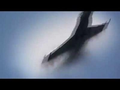 F 18 SUPER HORNET Super Sonic Boom