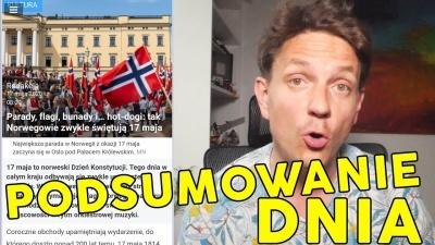 Zwolnienie z kwarantanny bo nie ma pieniędzy dla podglądacza z 17 maja  - Dzień w Norwegii
