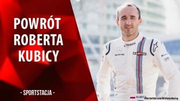 Powrót Roberta Kubicy do Formuły 1 | Sportstacja