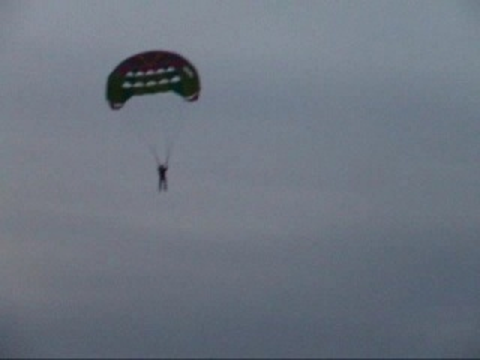 parasailing na pustyni błędowskiej