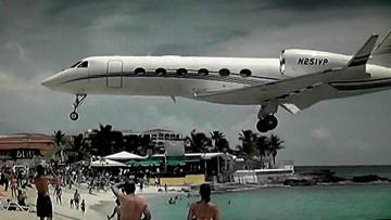 Famous Maho Beach St maarten Princess Juliana Int'l Airport