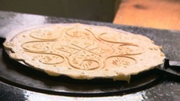 Tasty Norwegian Waffles - Hairy Bikers' Bakeation - Norway - BBC Food
