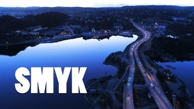 SMYK - Kristiansand 's drone show off