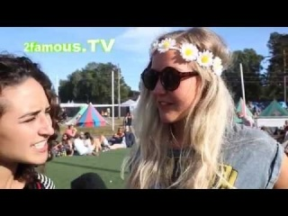 Norwegian Festival Fashion: Box-Fresh Look Even While Camping -- Hove 2014